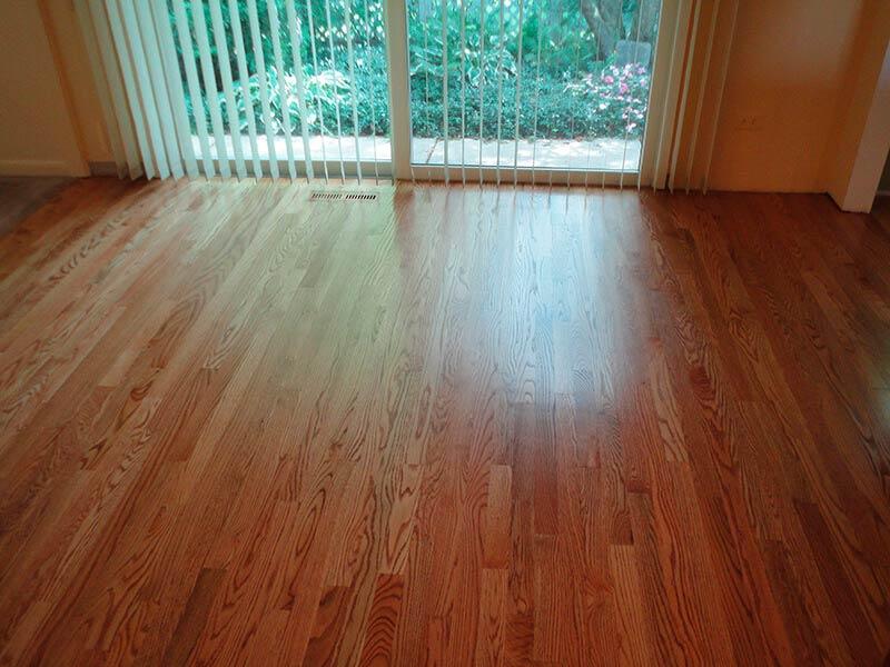 Residential Hardwood Flooring Staining