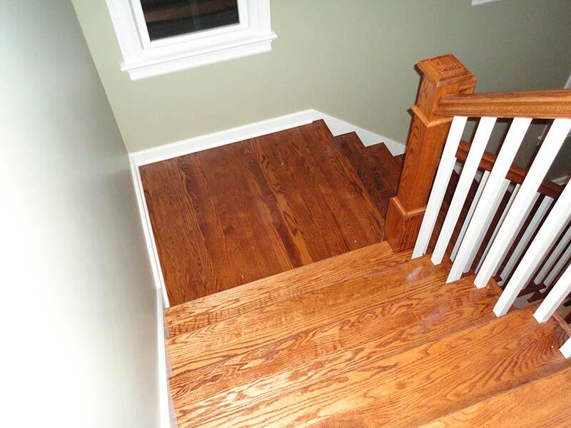 Residential Hardwood Flooring Refinishing and Staining