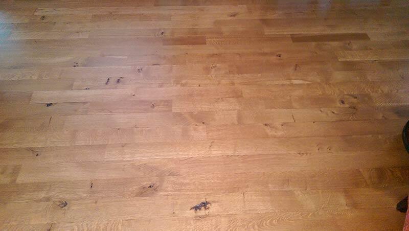 Residential Hardwood Flooring Refinishing