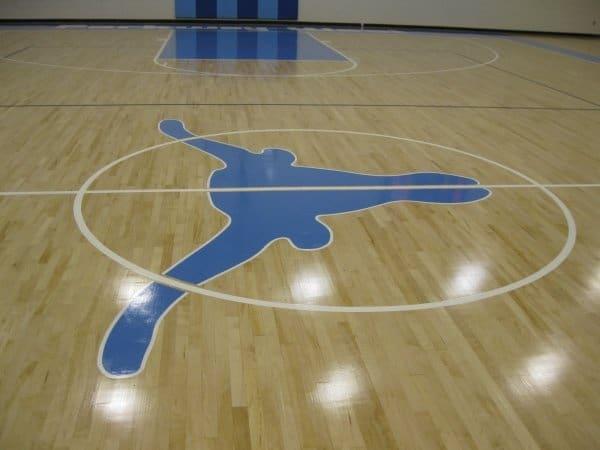 Parkway West Gymnasium Floor Refinishing