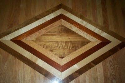 Decorative Wood Flooring Installation