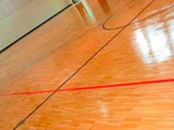 Hardwood Gym Flooring Installation